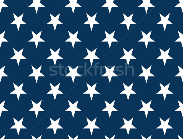 American Flag Stars - Seamless Pattern non Textured Stock photo © nazlisart