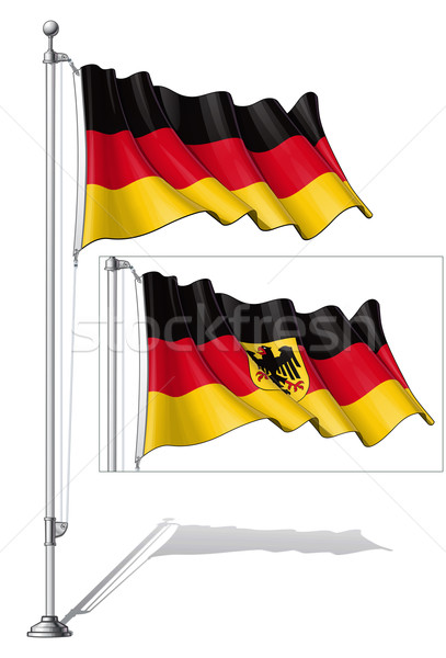 Flag Pole Germany