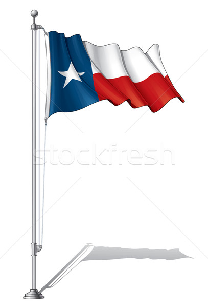 Flag Pole Texas