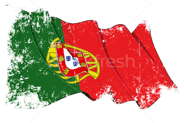 Grange Flag of Portugal Stock photo © nazlisart