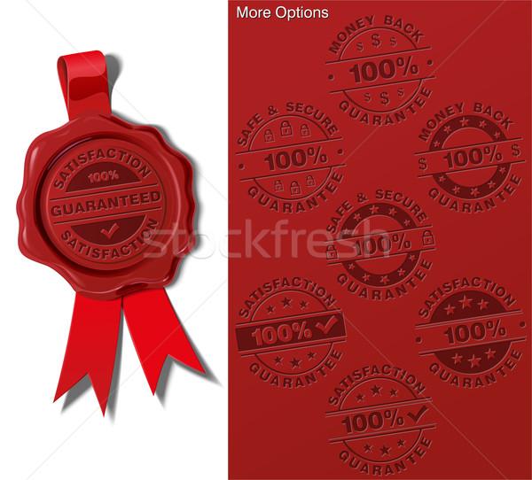 Wax Shield - Satisfaction Guarantee Stock photo © nazlisart