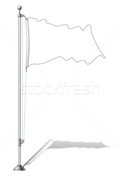 Flag Pole  Stock photo © nazlisart
