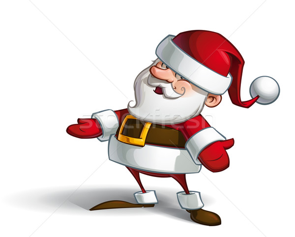Smilling Santa Stock photo © nazlisart