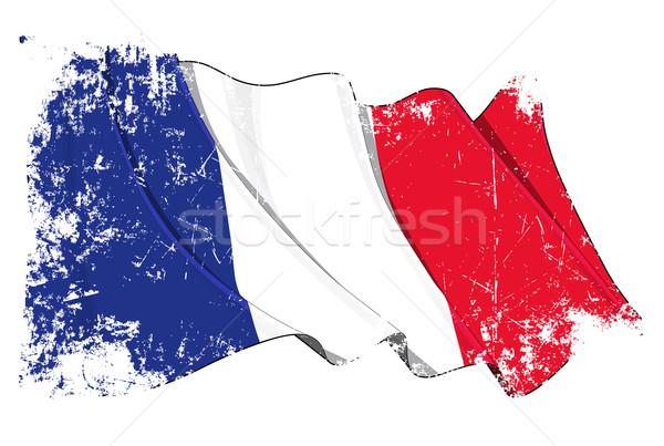Grange Flag of France Stock photo © nazlisart