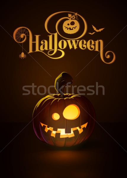 Jack-o-Lantern Dark Dummy Stock photo © nazlisart