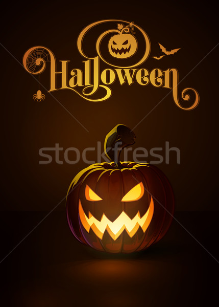 Jack-o-Lantern Dark Scary Cool Stock photo © nazlisart