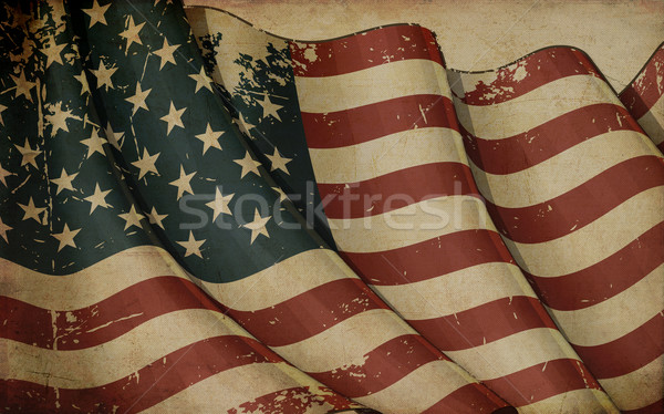 USA Old Paper Stock photo © nazlisart