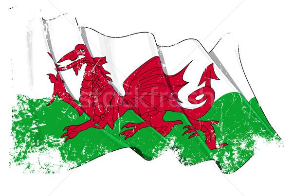 Grange Flag of Wales Stock photo © nazlisart