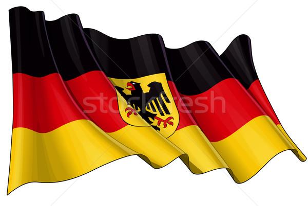 State Flag of Germany Stock photo © nazlisart