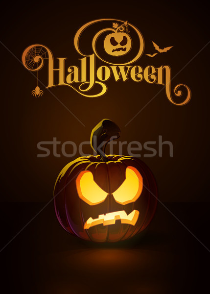 Jack-o-Lantern Dark Pissed Off