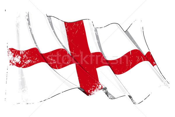 Grunge Flag of England Stock photo © nazlisart