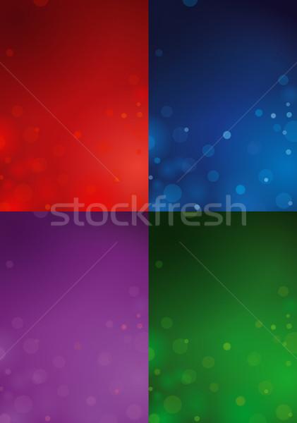 Four Christmas Backgrounds Stock photo © nazlisart