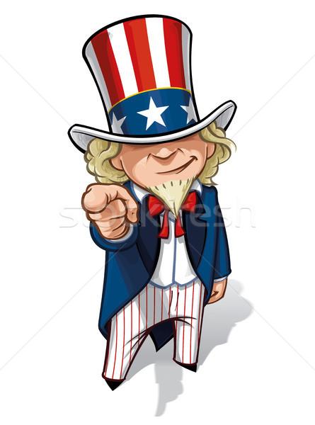 Uncle Sam 'I Want You' Stock photo © nazlisart