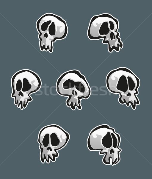 Seven Skulls Stock photo © nazlisart