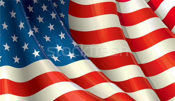 American Flag Stock photo © nazlisart