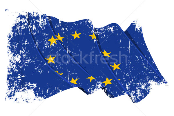 Grange Flag of EU Stock photo © nazlisart