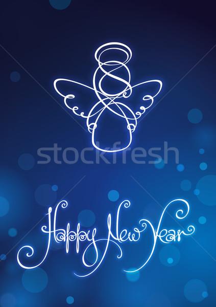 Happy New Year Card Stock photo © nazlisart