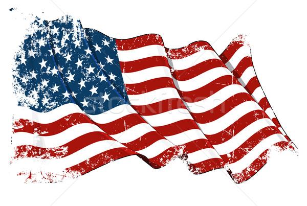 Grange Flag of USA Stock photo © nazlisart