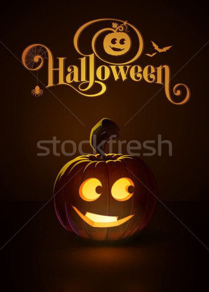 Jack-o-Lantern Dark Smarty Stock photo © nazlisart