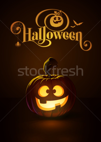 Jack-o-Lantern Dark Happy Stock photo © nazlisart
