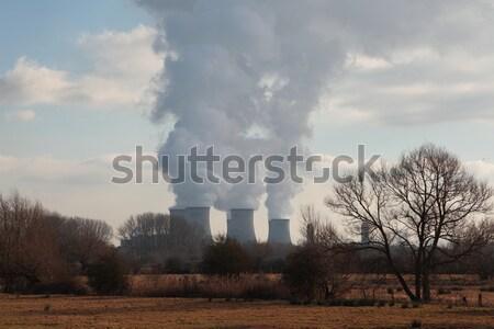Doğa mesafe güzel doğal sahne bulutlar Stok fotoğraf © ndjohnston
