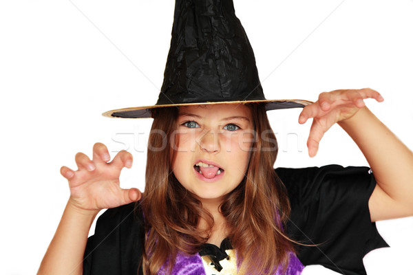 Halloween witch Stock photo © ndjohnston