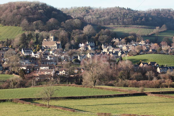 Cotswold village Stock photo © ndjohnston