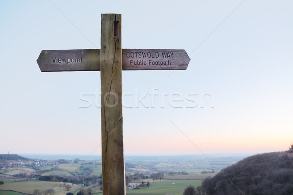 The Cotswolds Way Stock photo © ndjohnston