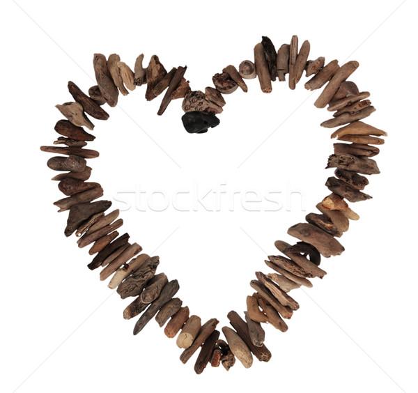 любви сердце романтика романтические границе Сток-фото © ndjohnston
