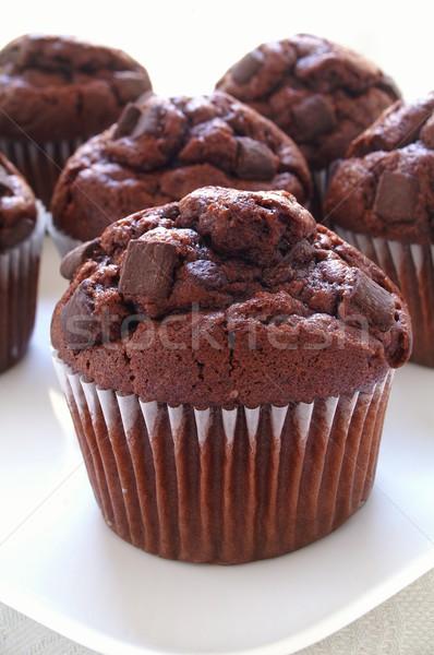 çikolata taze yonga kahve Stok fotoğraf © neillangan