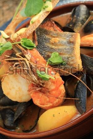 Bouillabaisse Fish  Stock photo © neillangan