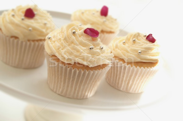 decorated cup cakes Stock photo © neillangan