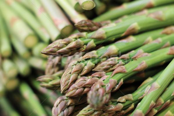 Vers asperges los achtergrond keuken Stockfoto © neillangan