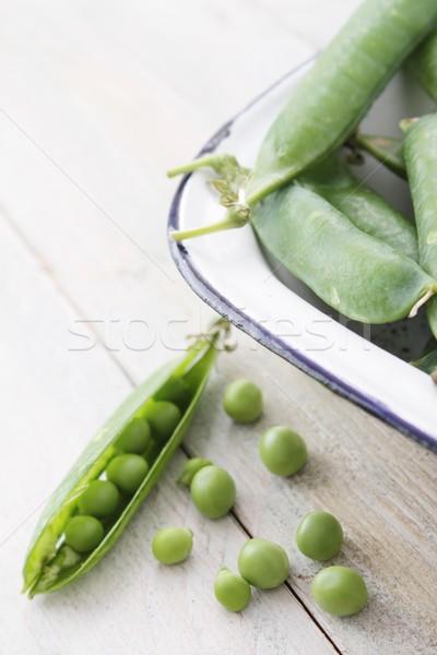 peas in pod Stock photo © neillangan
