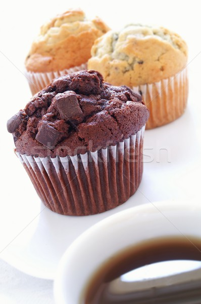 Taze çikolata zaman tatlı tatlı Stok fotoğraf © neillangan