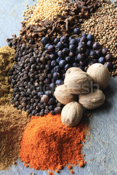 mixed spices Stock photo © neillangan
