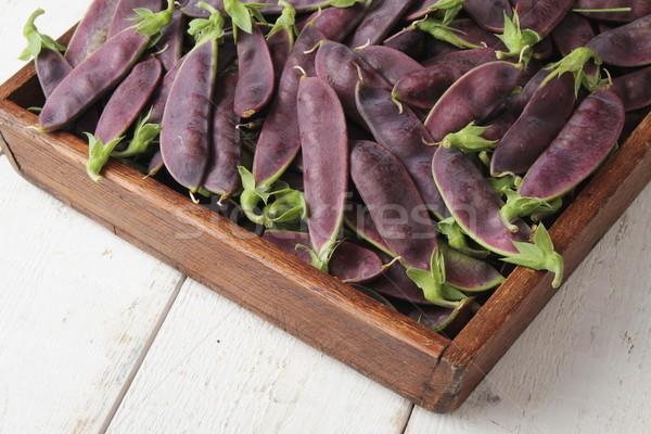 purple mange tout Stock photo © neillangan