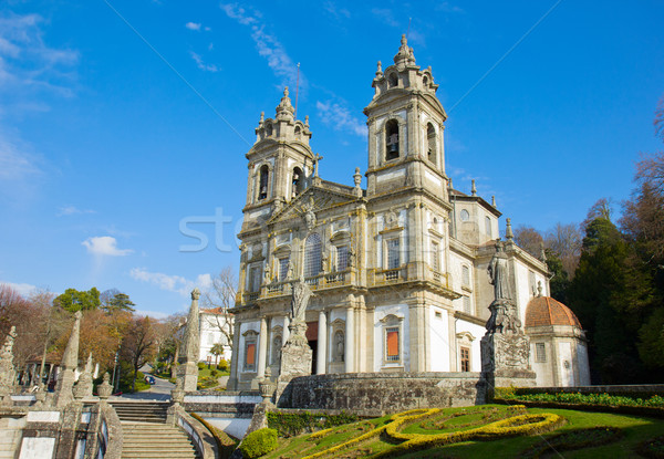 basilica Shrine of Good Jesus of the Mountain Stock photo © neirfy