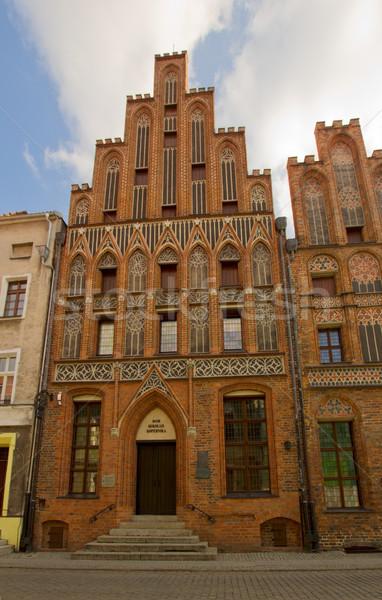 House of Nicholas Copernicus, Torun,  Poland Stock photo © neirfy