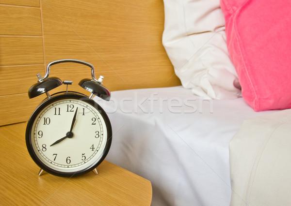 alarm-clock in morning bedroom Stock photo © neirfy