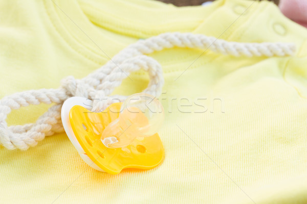 baby pacifier close up  Stock photo © neirfy