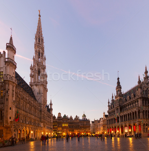 Grand Place And Town Square, Brusseles Stock photo © neirfy