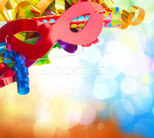 Stock photo: Mardi gras masques