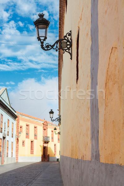 La tenerife ilha Espanha rua velho Foto stock © neirfy