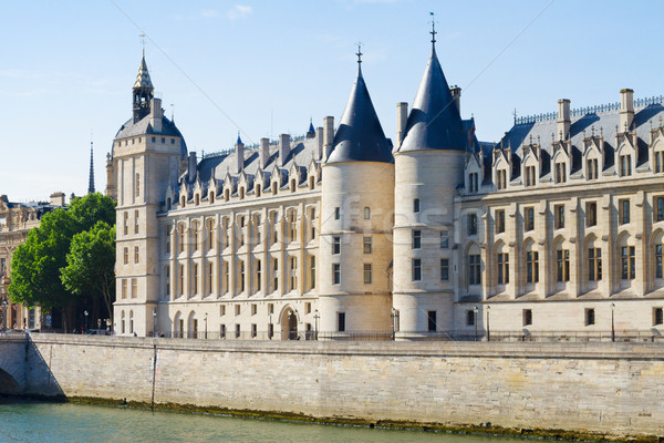 La Conciergerie, Paris, France Stock photo © neirfy
