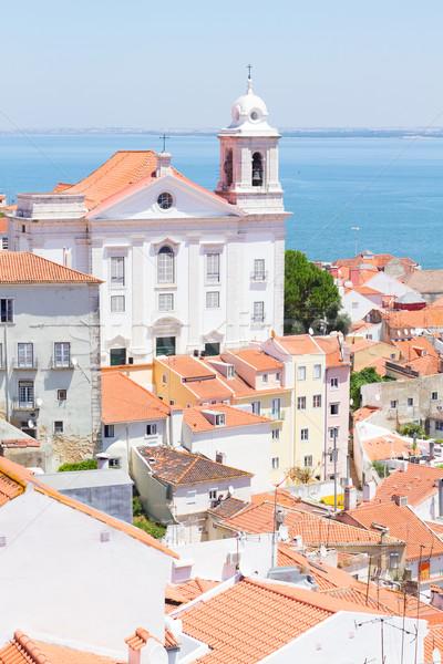 view of Alfama, Lisbon, Portugal Stock photo © neirfy