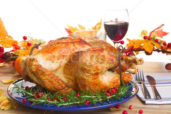 Thnaksgiving turkey Stock photo © neirfy