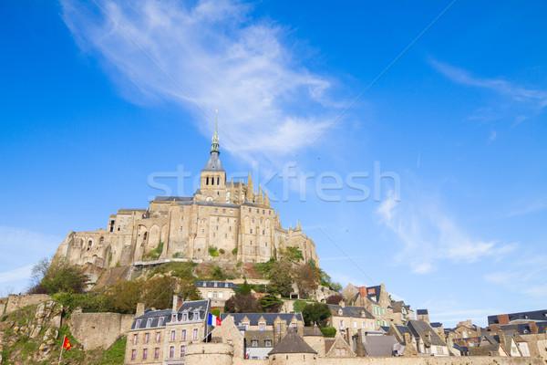Abbey  of Mont Saint Michel Stock photo © neirfy