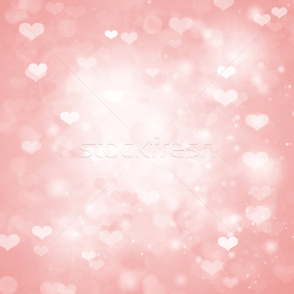 valentines day pink  background Stock photo © neirfy