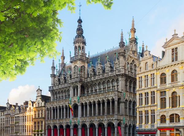 Roi Bruxelas verão dia Bélgica edifício Foto stock © neirfy